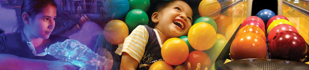 bowling alley, kids parties, kids soft play